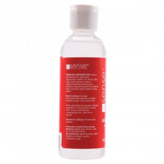 Gel Dezinfectant Pentru Maini Sense, 100 ml