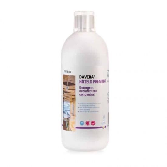 DAVERA® HOTELS PREMIUM – Detergent dezinfectant concentrat, 1 litru