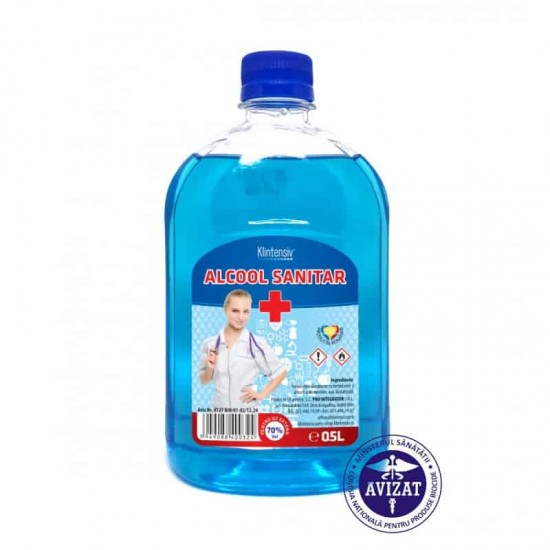 Alcool sanitar KLINTENSIV®, 500 ml
