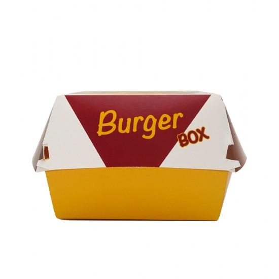 Cutie carton burger, medie, 125 buc/set