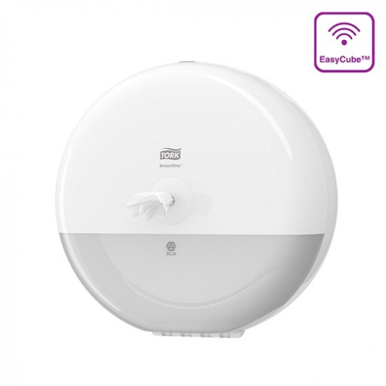 Dispenser hartie igienica SmartOne Tork alb