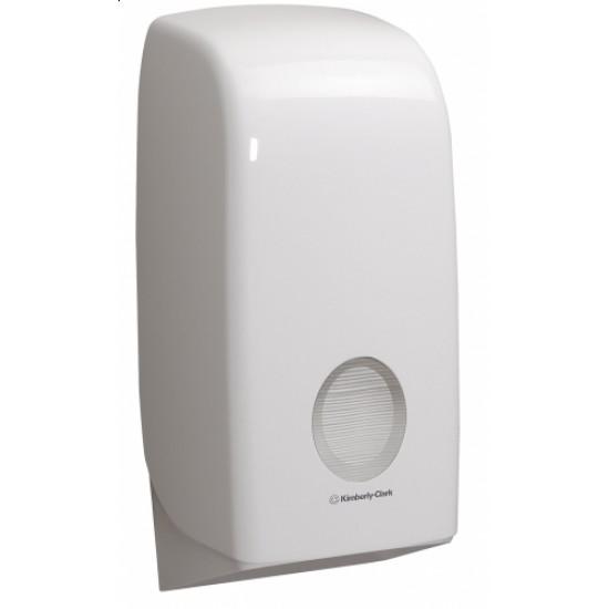 Dispenser hartie igienica pliata Kimberly-Clark Aquarius