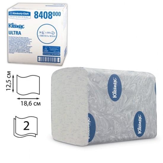 Hartie igienica Kleenex Ultra bulk 2 str, 36 pachete / bax, 200 buc / pachet