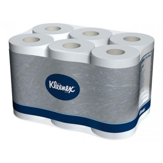 Hartie igienica Kleenex 2 str, 12 role, 600 portii / rola