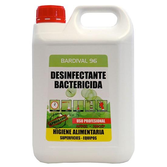 BARDIVAL- Dezinfectant bactericid de Suprafete, 5L, Asevi