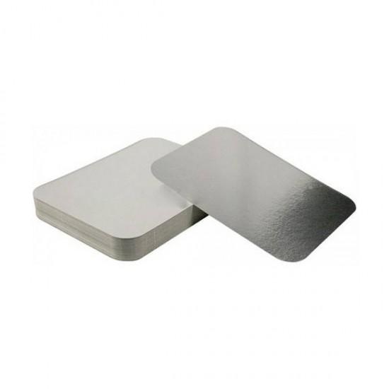 Capac pentru caserole aluminiu 2000 cc, 100 buc/set