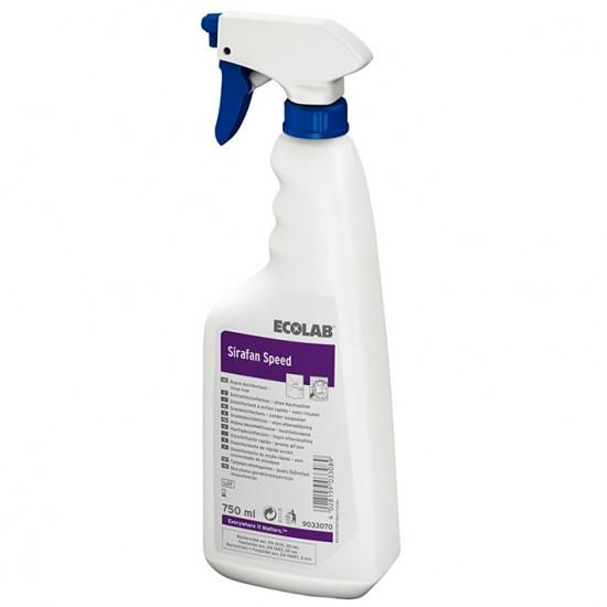 Dezinfectant rapid pentru suprafete, fara clatire, SIRAFAN  SPEED 750ml Ecolab