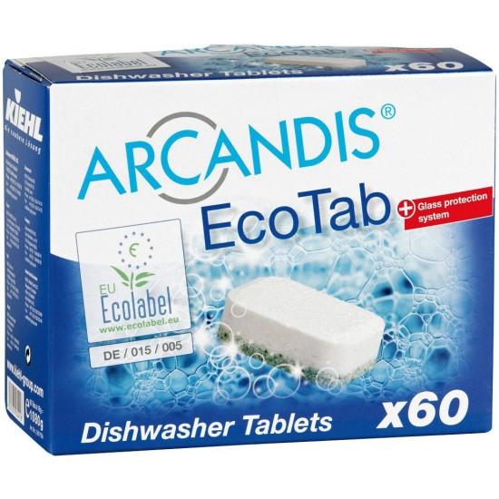 ARCANDIS - ECO TAB - Pastile pentru masina de spalat vase, 60 tablete, Kiehl