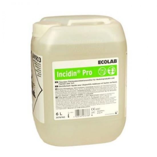 Detergent Dezinfectant Incidin Pro pentru unitati sanitare, Ecolab, 6l, cu aviz biocid