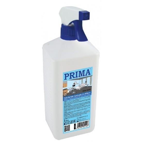 Dezinfectant rapid pentru suprafete, spray, 1L, PRIMA