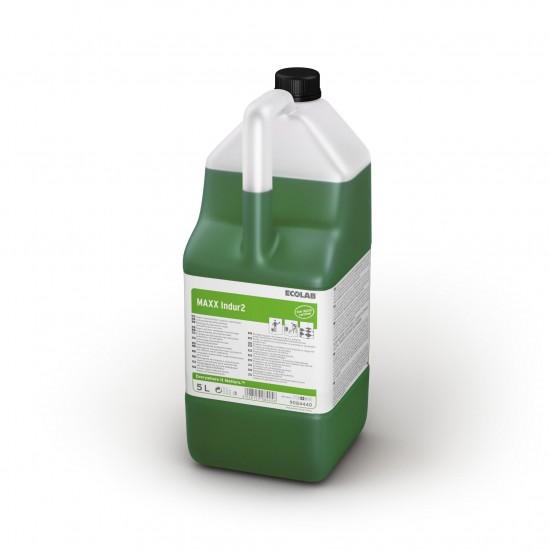 Detergent superumectant Manual pentru curățarea pardoselilor MAXX2 INDUR, 5L, Ecolab