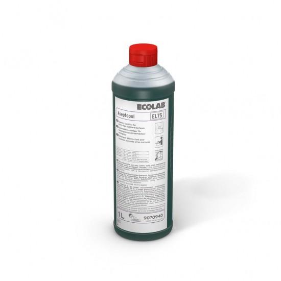 Detergent dezinfectant ASEPTOPOL EL 75 1L Ecolab