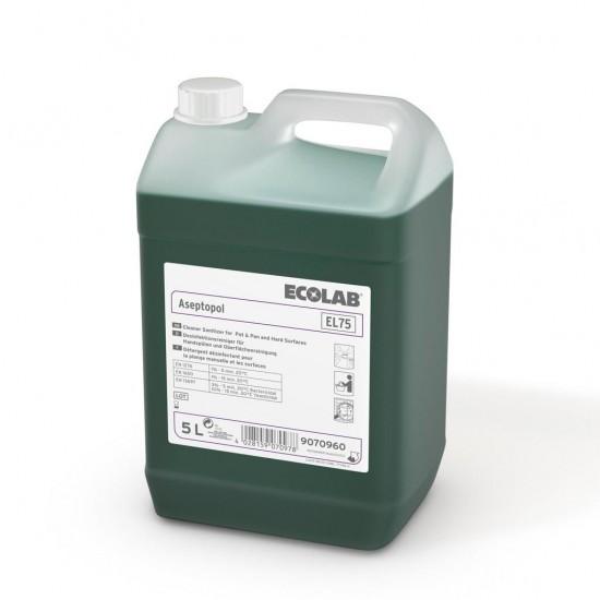 Detergent dezinfectant ASEPTOPOL EL 75 5L Ecolab