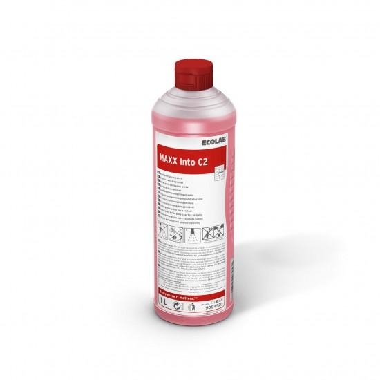 Detergent sanitar pentru curățarea zilnică MAXX2 INTO C, 1L, Ecolab - Ecologic