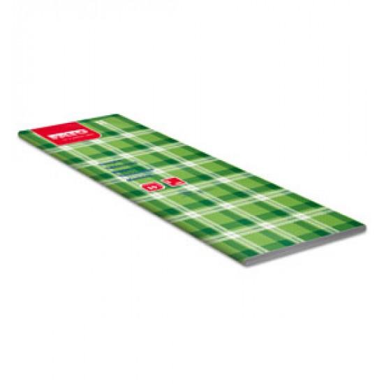 Fata de masa 100x100 cm, Scottish Green/Blue, FATO, 50 buc / pachet