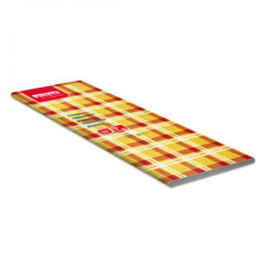 Fata de masa 100x100 cm, Scottish Yellow/Red, FATO, 50 buc / pachet