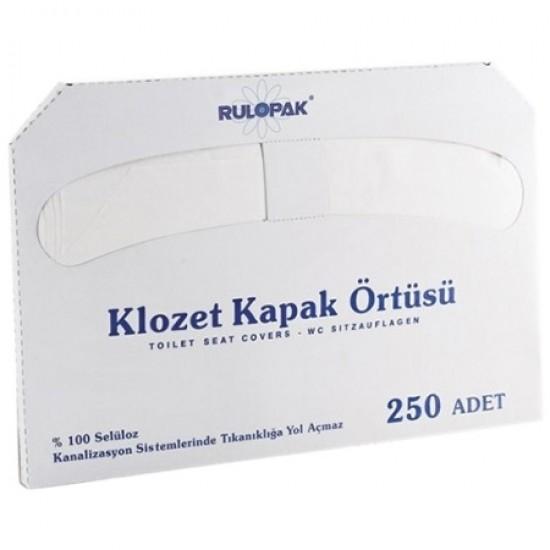 Acoperitori protectii pentru colacul de toaleta, 250 buc/set