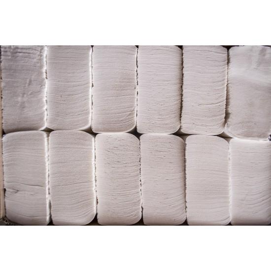 Prosoape hartie pliate Z fold, 200 buc / pachet, 2 straturi, 23  x 23 cm AQA Choice