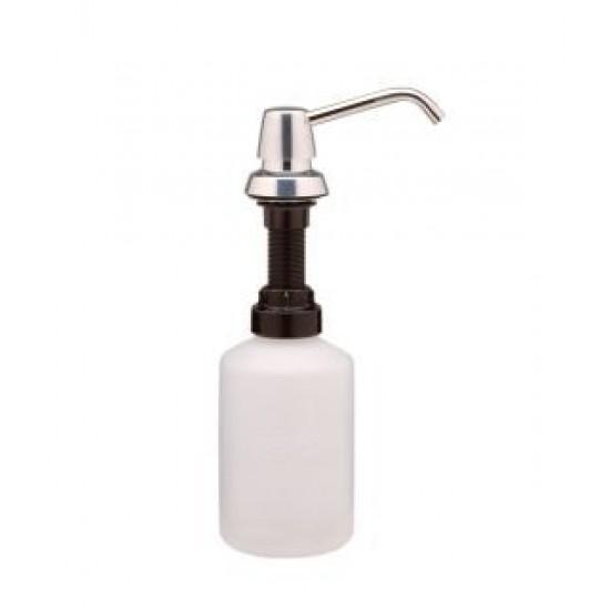 Dozator de sapun lichid, cu montaj in blatul lavoarului, seria Contura, Bobrick