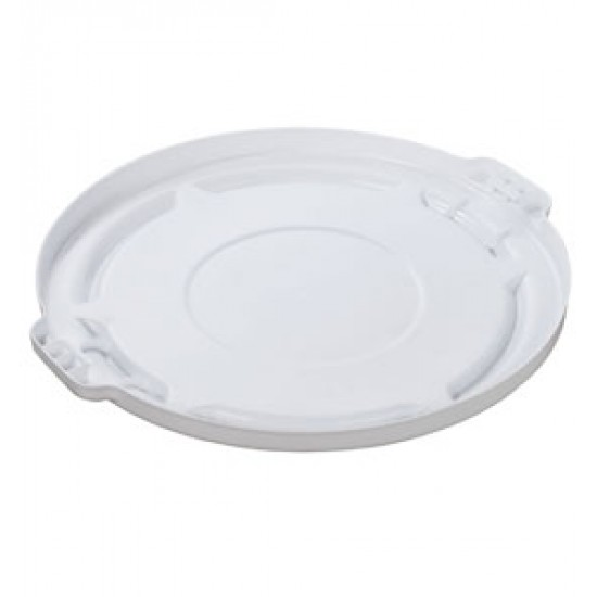 Capac pentru container rotund Brute, 37.9 L, alb, RUBBERMAID