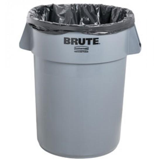 Container rotund Brute, 37.9 L, gri, RUBBERMAID
