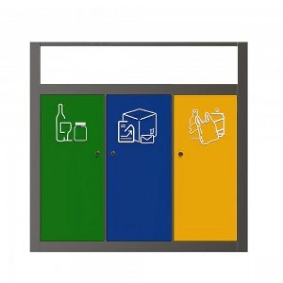 KUOKIO BS Monobloc pentru reciclare selectiva din otel inoxidabil