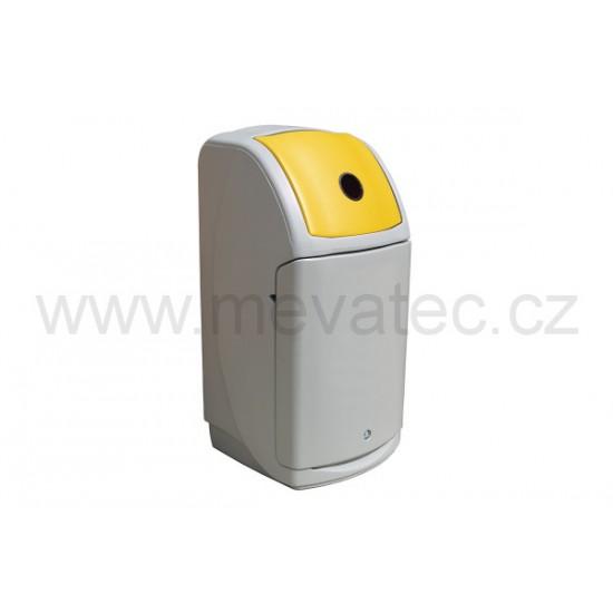 Cosul de gunoi NEXUS 140 L - gri MEVATEC