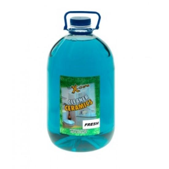 Detergent suprafete ceramice Manual fresh, 5 L Pet, AQA Choice