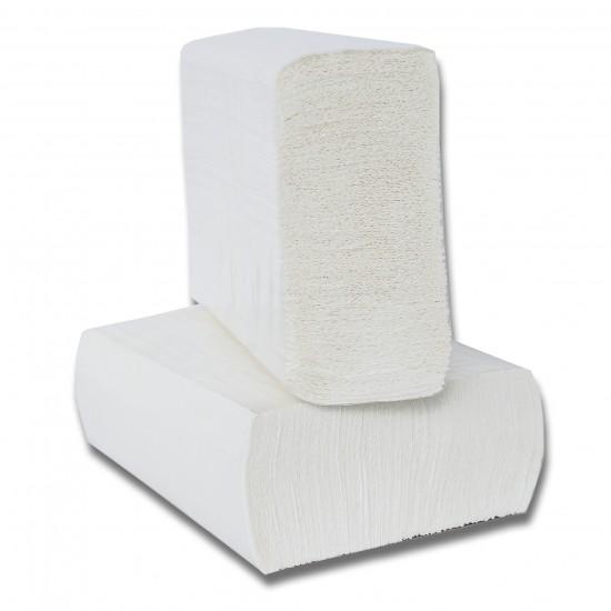 Prosoape hartie pliate Expres Z fold, 160 buc / pachet, 2 straturi, 21 x 23 cm, 12 pac / bax, AQA Choice