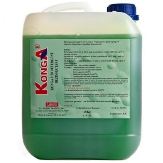 Aviz biocid - Detergent Hard 5 litri, Konga
