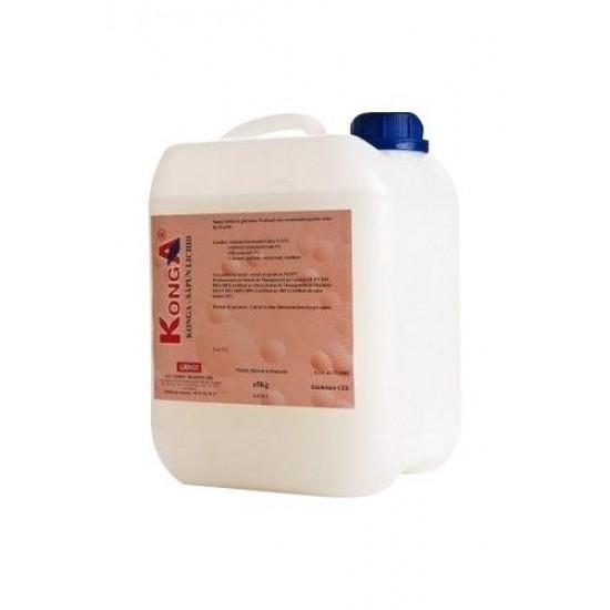 Aviz biocid - Sapun lichid cu dezinfectant, 5 L, Konga Silver