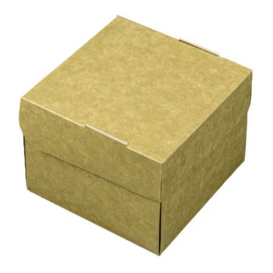 Hamburger box patrata - 11.5x11.5x7 cm H=9cm - 100 buc.
