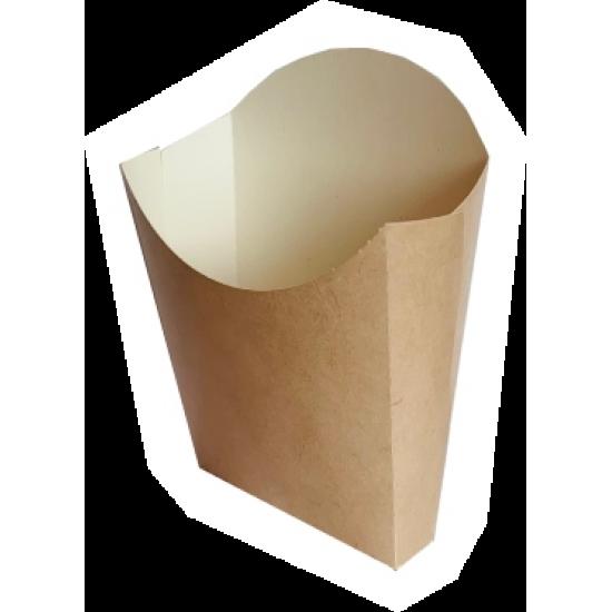 Cutie cartofi kraft - 11.5x11cm medie - 100 buc.