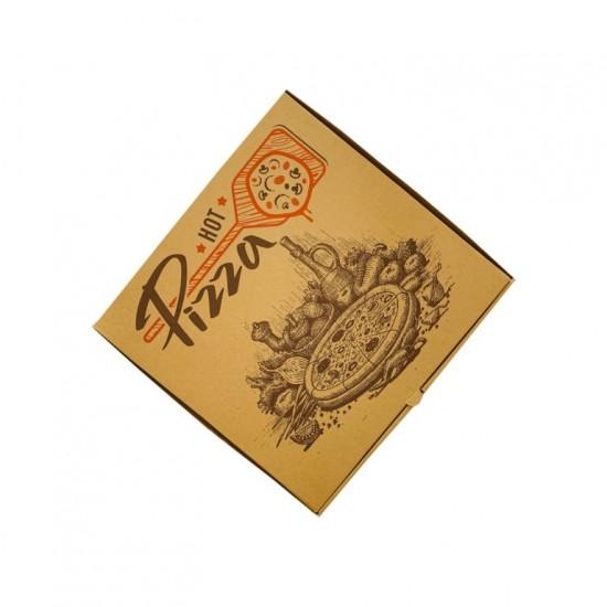 Cutii pizza natur 40x40cm -100 buc.