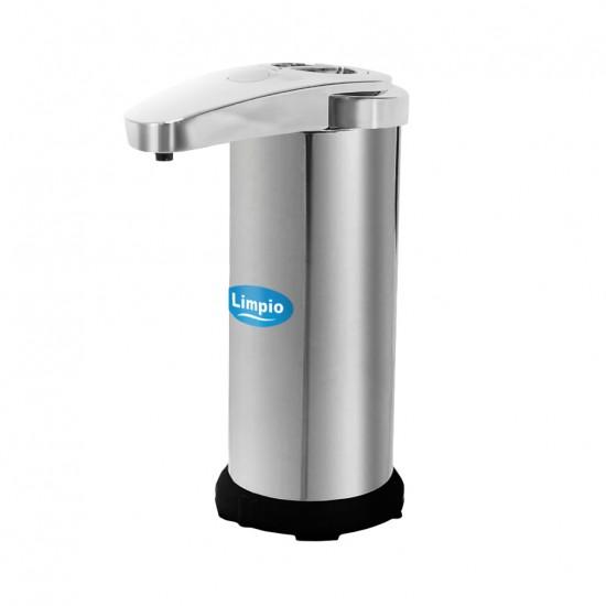 Dozator inox-ABS cu senzor pentru sapun, Limpio SD251S, 250ml