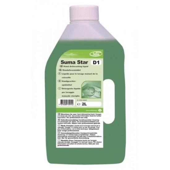 Detergent vase manual SUMA STAR D1, Diversey, 2L