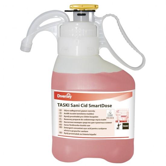Detergent acid suprafete lavabile TASKI Sani Cid SmartDose, Diversey, 1.4L