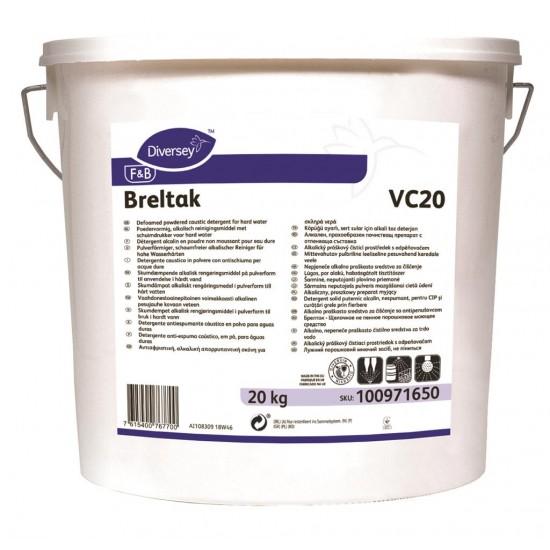 Detergent solid alcalin Breltak, Diversey, 20kg