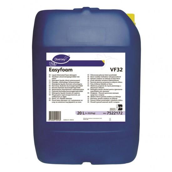 Detergent lichid clorinat Easyfoam, Diversey, 20L