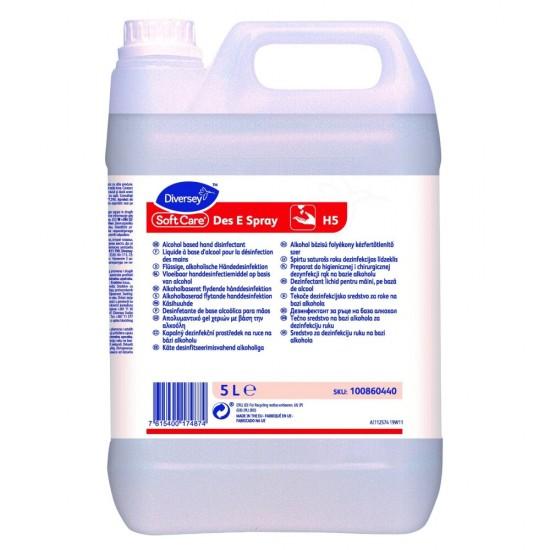 Dezinfectant maini Soft Care Des E, Diversey, 5 L