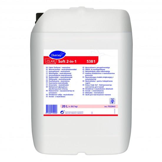 Blasam rufe Clax Soft 2in1, Diversey, 20L