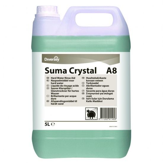 Aditiv clatire pentru masina de spalat vase SUMA Crystal A8, Diversey, 5L