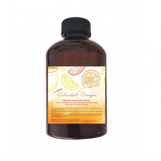 Odorizant ambiental Colorful Orange, 500 ml