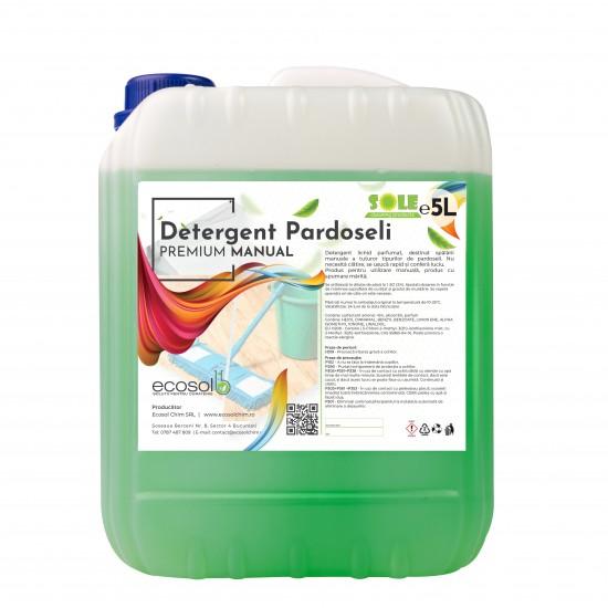 Detergent pardoseala Manual premium 5L Canistra AQA Choice