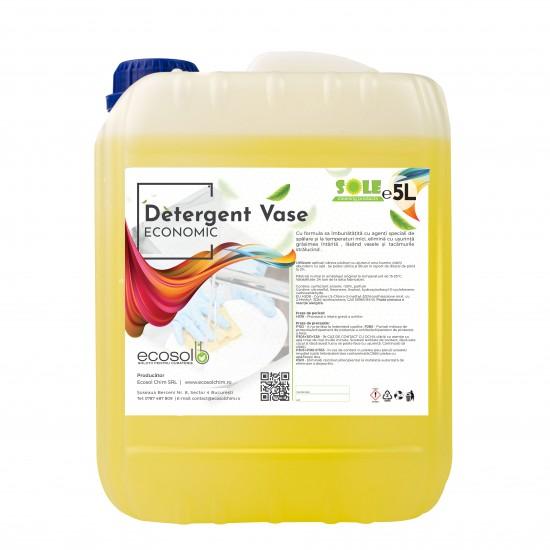 Detergent Lichid Vase Economic Manual 5L AQA Choice