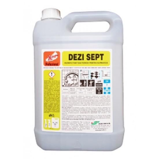 DEZI SEPT X-CLEAN Dezinfectant Min. Sanatatii pentru suprafete 5L