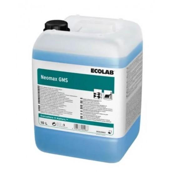 Detergent puternic alcalin pentru masini de spalat pardoseli, Ecolab Neomax GMS, 10l