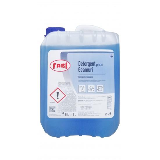 Detergent profesional pentru geamuri, Fabi, canistra 5L