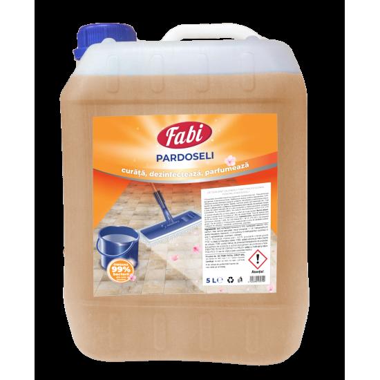 Detergent dezinfectant pardoseli, Fabi, 5L