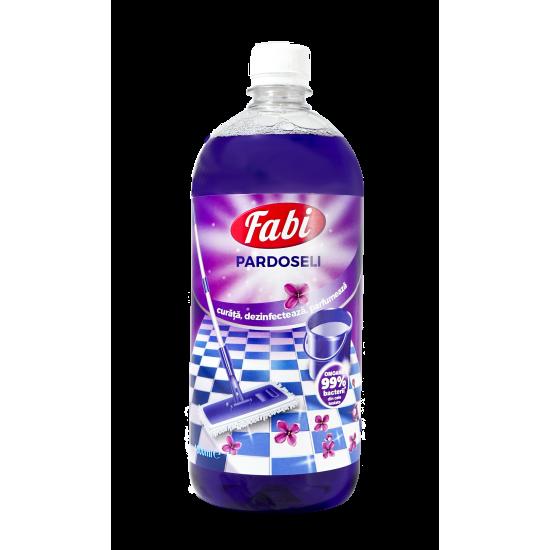 Detergent dezinfectant parfumat pentru pardoseli, Fabi, 1L